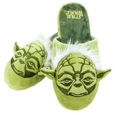 Star Wars - Yoda Adult Mule Slippers  - New & Official Lucasfilm Ltd / Disney