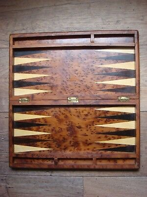 Vintage Quality Wooden Games Box