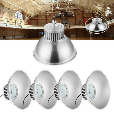 5x 100W High Bay Light led Warehouse Workshop Office Factory Industrial Lighting