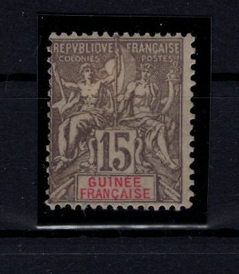 P36739/ Guinee Fr / French Guinea – Maury # 15 Neuf * / Mint Mh Signed 125 €