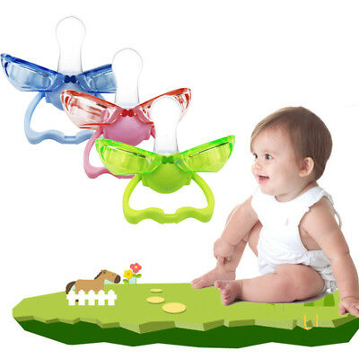 Cute Infant Pacifier Automatically Closed Silicone Dummy Soother Nipples