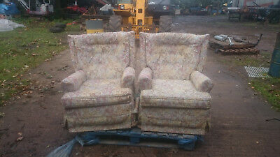 antique rocker recliner chairs very good condition