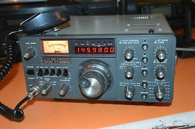 Yaesu FT-225 RD   2 Meter   Allmode     Old School !!    Superb !!!
