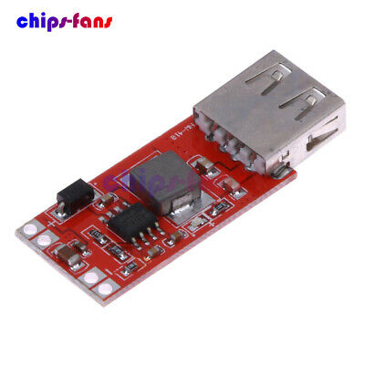 DC-DC 12/24V to 5V 3A USB Step-down Buck Power Module for Car Charger