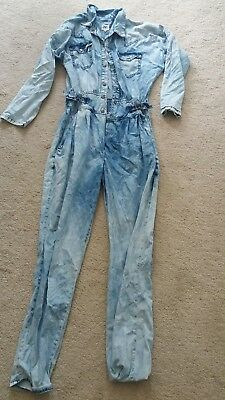 Asos denim jumpsuit size 10