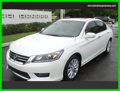 2014 Honda Accord EX-L 2014 EX-L Used 3.5L V6 24V Automatic Front Wheel Drive