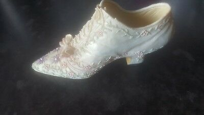 Ornament shoe collection gorgeous vintage perfect gift FREEP+P