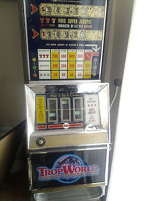 Antique Bally 952D Slot Machine