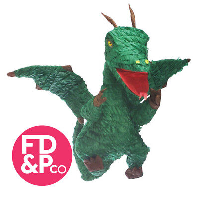 Game of Thrones Style Green Dragon Shaped Bash Pinata Party Game Decoration