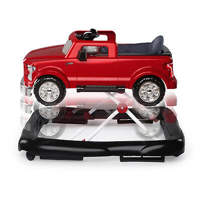Baby Walker Boys Wheels Handle Seat Lights Portable Truck Ford F-150 Activitives