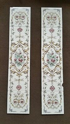 Genuine Original Victorian tiles / Fireplace tiles /  Feature tiles only