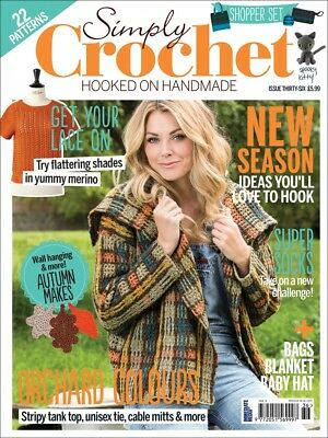 Simply Crochet Magazine Issue 36 No Free Gift (new)