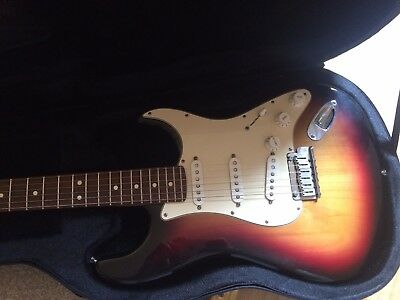 "50th Anniversary Serie USA Fender American Standard Stratocaster """"in a case"""""