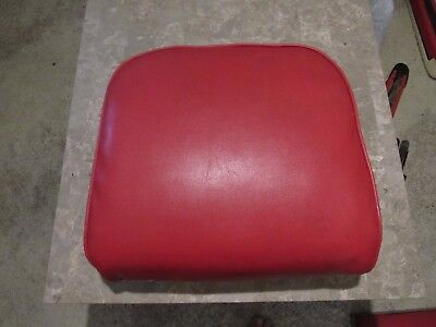 Antique Koken Barber Chair Vintage Back Cushion With Fasteners Nice Shape