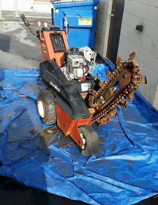 "2004 DITCH WITCH Self-propelled ""Handlebar"" Walk-behind Trencher ALL WORKING"
