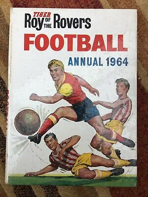Roy Of The Rovers Football Annual - Vintage 1964
