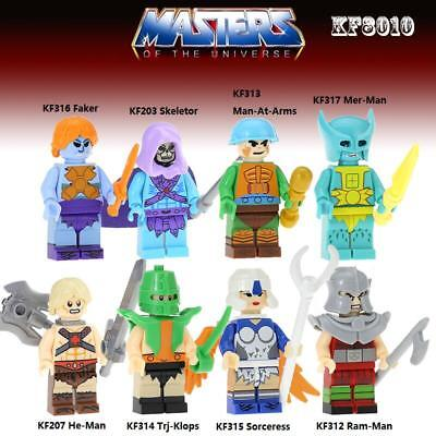 KF8010 Super Heroes Minifigure He-Man Masters of the Universe - Choose ONE