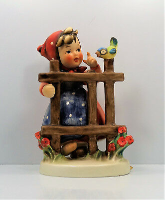 "Goebel Hummel Figurine Signs of Spring #203/1 5"" TMK 5 A431"