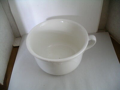 Antique W.S. George Hotel Ironstone Chamber Pot
