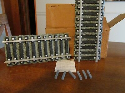 Jim Beam 4 Sections Train Tracks with connectors original box mint with papers