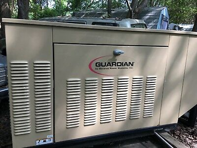 25KW Genrac  Guardian Generator with automatic switching Only 157 Hours