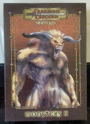 Chainmail - Dungeons & Dragons Box Set Monsters 2 - 8 Metal Minis Bases & Cards