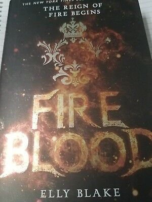 The Frostblood Saga: Fireblood 2 by Elly Blake (2017, Hardcover)