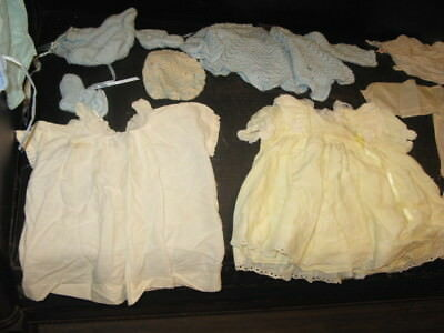 29 Group Lot Vintage Antique Girl and Boy Baby Clothes