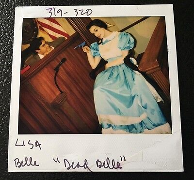 MADtv Continuity Polaroid Wardrobe Photo Lisa Arch as Belle Disney Character a