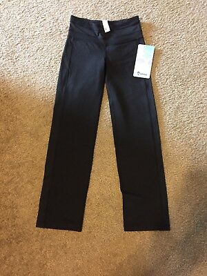 Girls Ivivva Studio Motion Pants Black Size 8 New With Tags