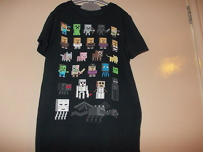 Boy's Offical Mined Craft T-shirt Age 8 yrs