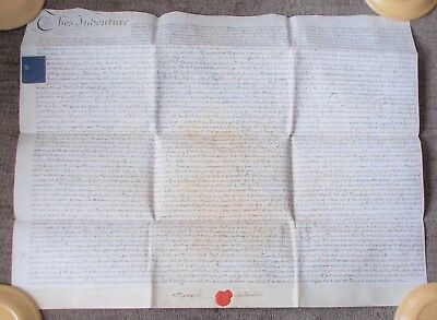 Old Indenture - 1816 - Lincoln Area.