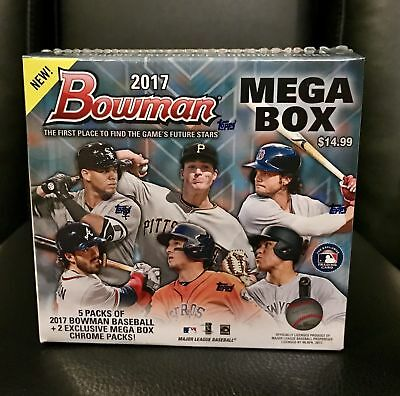 2017 TOPPS BOWMAN MEGA BOX Factory Sealed Box Lot JUDGE, OTANI, BELLINGER