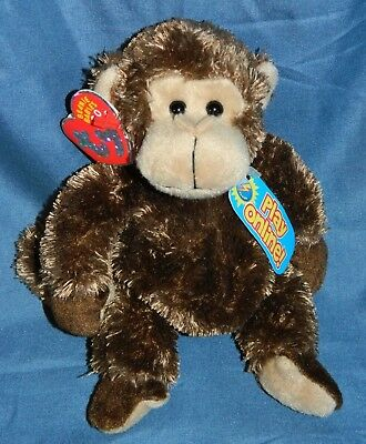 TY Beanie Baby 2.0 Vines the Monkey Unused Online Code New w/ Tags 2007 Retired