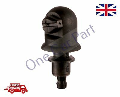 Single UNIVERSAL WINDSCREEN WASHER Single JET STRAIGHT INLET PUSH FITTING