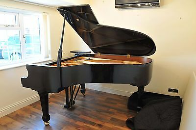 W Hoffmann T186 Grand Piano - Polished Black