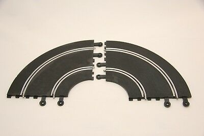 Scalextric Classic Track - Pt56 - Double Inner Curves - X2