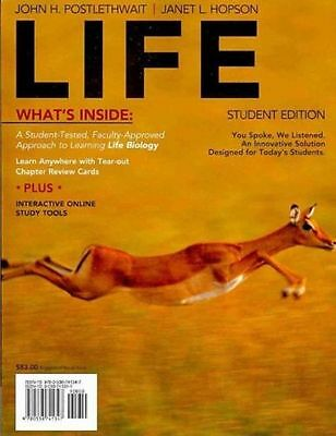 Life, Student Edition by John H. Postlethwait Paperback Book