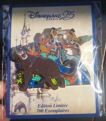 Pins 25Th Anniversary Disneyland Paris Parade Bagheera