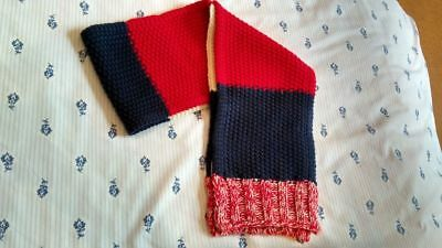 Mini Boden Boys Knitted Autumn Winter Stripe Scarf 2-6 years excellent condition