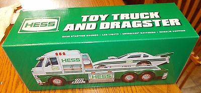 Hess Gasoline '16 Toy Truck and Dragster