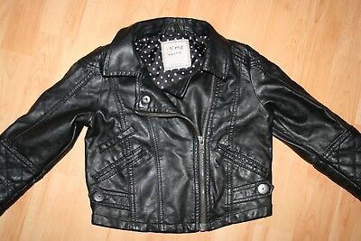 Girls Next Leather Jacket 18-24 Months Baby