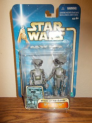 Star Wars SP-y & JN-66 Figures  Free Fast Ship!