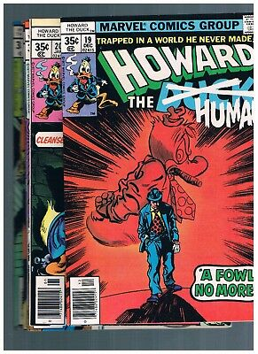 Marvel Comics Howard The Duck 19-24 BRONZE AGE  MAX SHIPPING 3.99