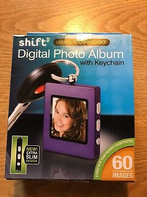 NEW Shift Digital Photo Album With Keychain !!!REDUCED!!!