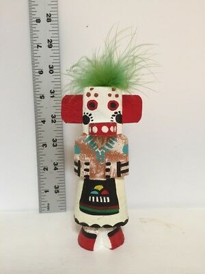 Route 66 Bear Kachina doll signed L Pooley