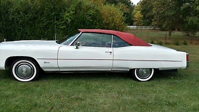 1974 Cadillac Eldorado -- 1974 Eldorado Less than 90,000 Actual miles. NO RESERVE. Nice weekend Cruiser.