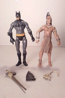 mattel BATMAN & INDIAN for custom DC INFINITE fodder lot of 2 3.75in #7160
