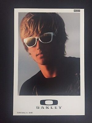 """Oakley Display Card 6""""x4"""" Featuring Frogskins Sunglasses 2008"""