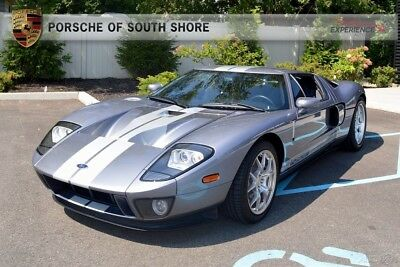 2006 Ford Ford GT All 4 Options Painted Racing Stripes McIntosh Audio Forged BBS Wheels Grey Brake Calipers